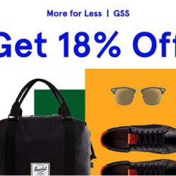 Zalora: GSS Continues with Coupon Code for Extra 18% OFF Your Favourite Styles!