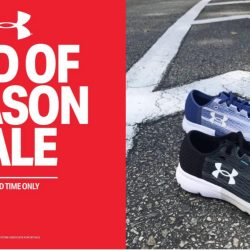Under Armour: End of Season Sale with Up to 25% OFF Select Styles
