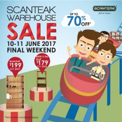 [Scanteak] Didn't manage to visit us last weekend?