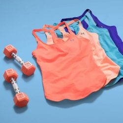 [Under Armour Singapore] Cool and colorful tanks that will help you beat the heat ☀️.