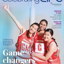 [Thomson Chinese Medicine] Meet a few of the first Celebrating Life members – the spirited Netball Singapore players and learn more about the health
