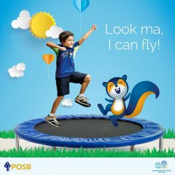 [POSB Autolobby] Make your mark with every step when you RunForKids this September.