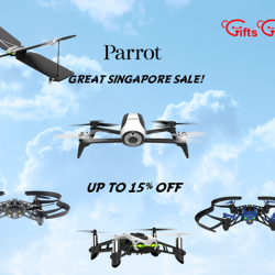 [Gifts Greetings] Grab your own drones during our Parrot Great Singapore Sales now!