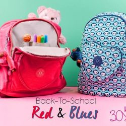 [Kipling] With the adorable HEART BACKPACK for your little tot's needs, keep them prepared for all their BackToSchool needs!