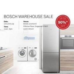 [Best Denki] One more week to the Bosch warehouse Sale at Junction 8!