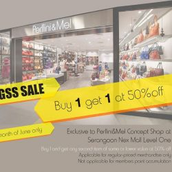 [Perllini & M.E.L.] GSS Sale - Buy One Regular Price Item and Get A Second Item of same or lower value at 50%, Grab