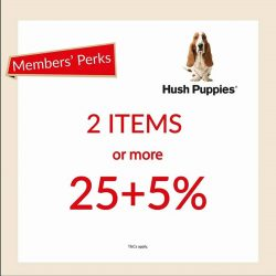 [Hush Puppies Outlet / Antton & Co. Outlet]