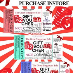 [NICE Cosmetics] Receive our FREE Cash Voucher with any purchase at NICE Cosmetics today!