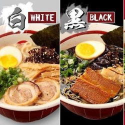 [MENYA MUSASHI] You can now order our signature White Black Red Ramen and get it delivered to you with NO DELIVERY CHARGE!