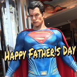 [DC Comics Super Heroes Cafe] Shoutout to all Fathers out there, Happy Father's Day!