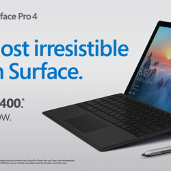 [Newstead Technologies] Now is the perfect time to get Surface Pro 4, with up to $400 OFF for selected models!