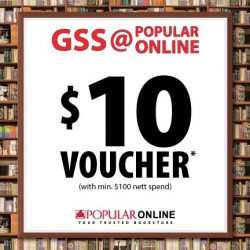 [POPULAR Bookstore] LAST 3 DAYS FOR BONUS BUYS!