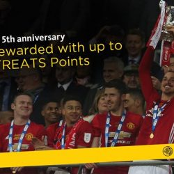 [Maybank ATM] To celebrate our 5th year of partnership with Manchester United, Maybank is rewarding our Cardmembers in a big way.
