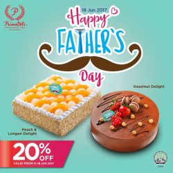 [PrimaDeli] DON'T FORGET AH, Father's Day is this month!