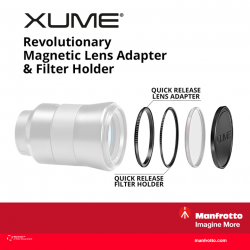 [Cathay Photo] If you're a fan of filters, the new Manfrotto XUME Adapter could just be the accessory for you - a