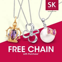 [SK Jewellery] Make a statement this summer with alluring pendants that bring out the beauty in you!