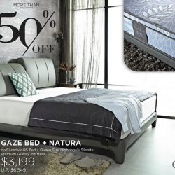 [Cellini] GAZE BED & MATTRESS: GSS SEASON SALE - NOW S$1,399 (U.