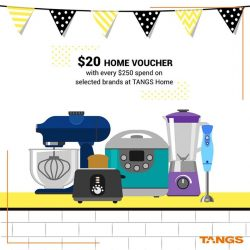 [VivoCity] The TANGS Sale continues with UP TO 70% OFF!