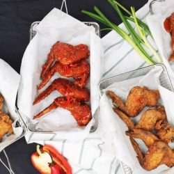 [Singtel] Chicken Up is well-known for its Korean Fried Chicken - marinated for 12 hours and deep-fried to seal in