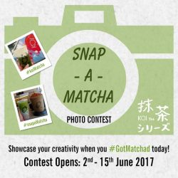 [KOI Café Singapore] Showcase your creativity when you GotMatchad today!