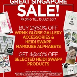 [Papermarket] More GREAT SINGAPORE SALE deals now available!