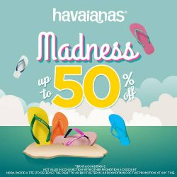 [Common Thread Singapore] The GSS2017 madness is real, we're giving discounts of up to 50% off at Havaianas!