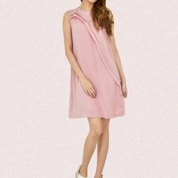 [MOONRIVER] Nancy Flowy Chiffon Dress - A lovely chiffon dress that you must have.