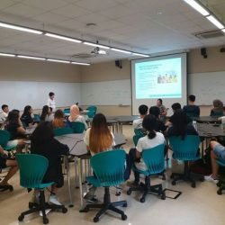 [Disabled People's Association] Yesterday, DPA conducted a Disability Awareness Training Session (DATS) at Ngee Ann Polytechnic for the volunteers of 'Give Back 2017 -