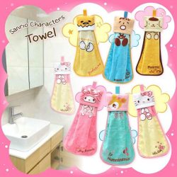 [Sanrio Gift Gate] We can't resist this super adorable hand towel!