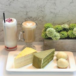 [Lady M Confections] The ideal Lady M experience starts with the Lady M cake set.