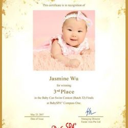 [BabySpa] Happy to share our little swimmers, big achievement.