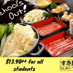 [SUKI-YA] School's out and it's time to indulge in good food with your classmates!