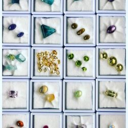 [De Silver] Ready for SALE㊗️ Tourmaline; Emerald; Fluorite; Petroleum Diamond; Garnet; Amethyst etc.