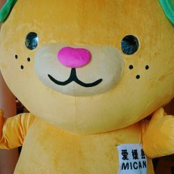 [Sun with Moon Japanese Dining & Café] Warmest welcome to Ehime's Mascot, Mican, who will be visiting us at SUN with MOON for our Shikoku Promotion!