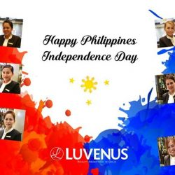 [Luvenus] Today, millions of Filipinos celebrate freedom with their family and friends.