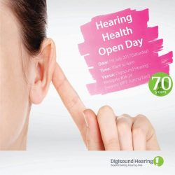 [Digi-Sound Hearing Care Centre] Mark down your calendar!