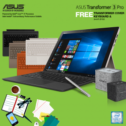 [ASUS] Drop by and shop with ASUS to receive a FREE Second Transformer Cover Keyboard (worth $169) with every purchase of