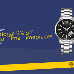 [Maybank ATM] Create precious memories with quality timepieces from Crystal Time.