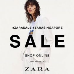 ZARA: Spring Summer 2017 Sale with Up to 60% OFF in Stores & Online!