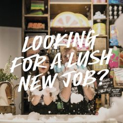 [Lush Singapore] We are looking for full-time supervisors and full-time sales ambassadors to join our growing team!