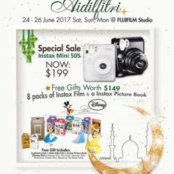 [FUJIFILM] Treat yourself or your loved ones this Hari Raya from 24-26 June 2017 to a FUJIFILM Instax Mini 50s