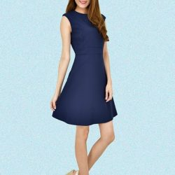 [MOONRIVER] Jone Classic Fit and Flare Dress - The Beauty of Simplicity.