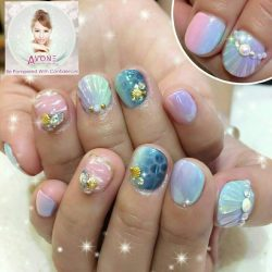 [AVONE BEAUTY SECRETS] Ocean Magic ☆ - Beautifully presented by our dear Crystal from our passionate JEM Nailworks Team (Tel.