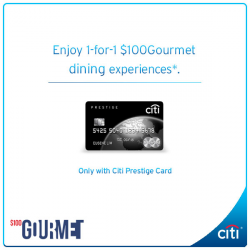 [Citibank ATM] Are you a food connoisseur?