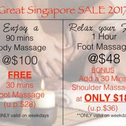 [Jas-Indulge Nail Spa] Our Great Singapore SALE is here!