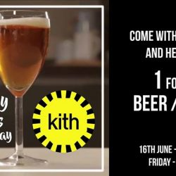 [Millenia Walk] Kith Café is giving Dads a rockstar treat this Father's Day with a 1-for-1 bottled beer, draft