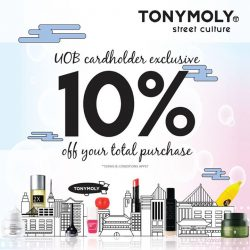 [Tony Moly Singapore] Tonymoly x UOBGreat news!