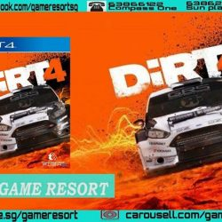 [GAME RESORT] PS4 Dirt 4 Day One Edition,DiRT 4 features a game-changing system called Your Stage; an innovative rally route