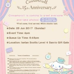 [Sanrio Gift Gate] Cinnamoroll & Gudetama is coming to Sanrio Gift Gate stores this weekend to greet all the fans!