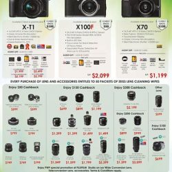 [FUJIFILM] If you have missed the PC Show 2017,  Great deals are still installed for you the whole month of June !